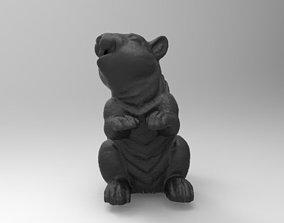 squirrel 3D print model art