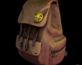 Backpack stylized paint 3D model
