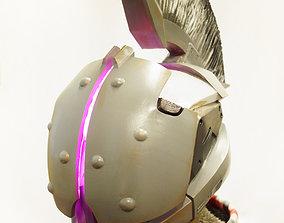 Helm of Saint-14 helmet from Destiny 3D printable model 1