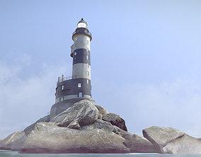 Lighthouse Aniva 3D model