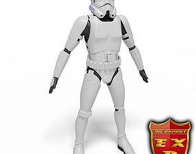 Robot trooper 3D