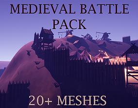 3D model Medieval Battlefield Pack