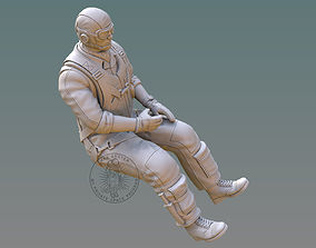 3D print model US NAVY PILOT