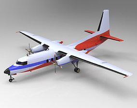 Fokker F27 3D model