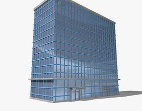 3D architecture Metropolitan Skyscraper