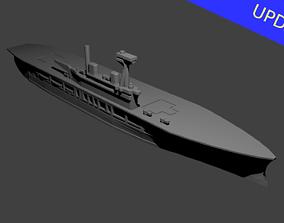 3D printable model British Aircraft Carrier Eagle