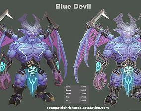 3D asset BlueDevil