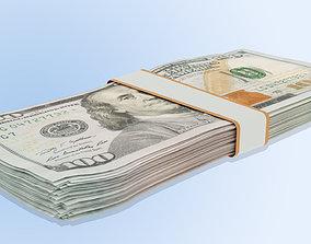 3D model Dollar Notes