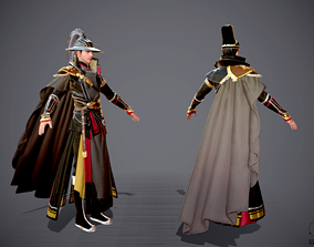 3D asset Jinyiwei Royal Guards Imperial Guards Chinese 2