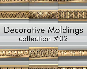 Decorative Moldings collection 02 3D model