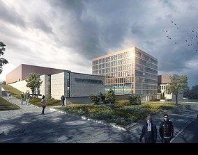School buildings 002 3D