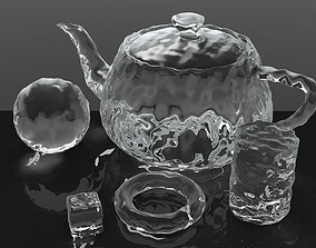 Smooth Ice Cubes 3D model