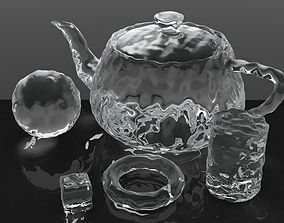 3D model Smooth Ice Cubes