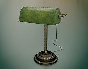 Banker Lamp - Emeralite 3D model