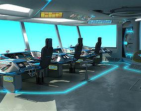Ship Bridge 3D model
