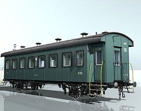 2-axles wagon 3D model