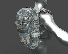bag military 3D model