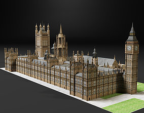 3D model Palace of Westminster