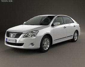 3D model Toyota Premio 2010 sedan