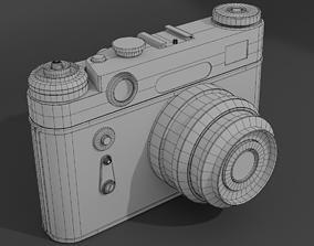 3D model Old soviet camera Zorki-6