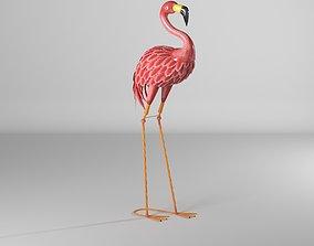 3D asset Iron Flamingo