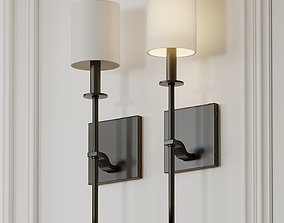 Bueche 1-Light Wallchiere Armed Sconce by Ivy Bronx 3D