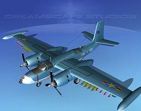 Douglas A-26K Invader Congo 3D