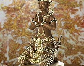 The Angel Thai Pattern - 3D Printing Model