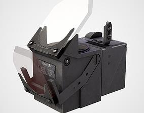 Revi 16B WWII German optical sight 3D model