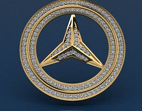 3D printable model Mercedes Benz Key-chain