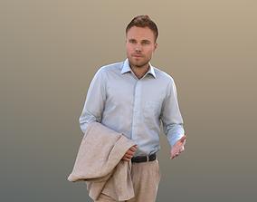 Simon 10082 - Standing Business Man 3D model