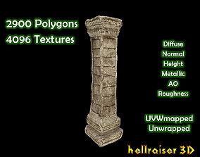 Pillar - Column 2 - PBR - Textured 3D model