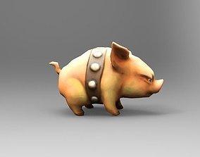 GameCharacter Piglet 3D asset