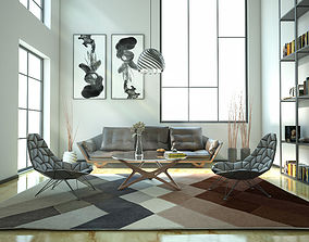 Industrial Modern House 3D
