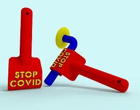 Door Opener Stop Coronavirus for 3D printing