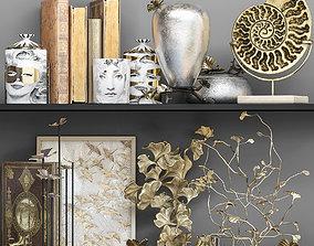 3D model Decorative set of luxury pieces