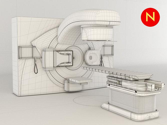 elekta-infinity-radiotherapy-3d-model-ma
