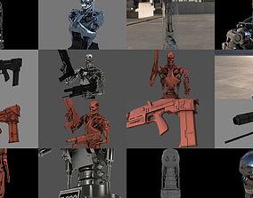 Terminator T-800 Full Pack 3D