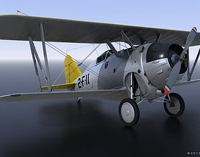 3D model GRUMMAN F2F-1 USS Lexington CV-2 1940