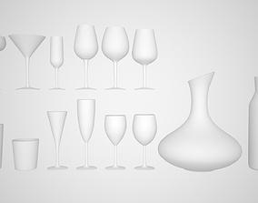 Ikea Glasses 3D model