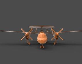 3D print model E-2 Hawkeye