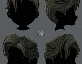 realtime 3D Hair style for boy V44