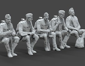 3D printable model soldiers ussr ww2