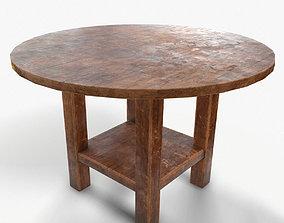 3D asset PBR Round Table