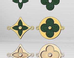 Louis Vuitton bracelet blossom BB 3D printable model 1