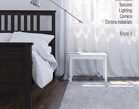 Interior scene Corona render A6 3D