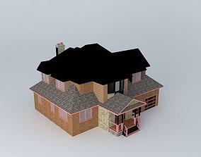 Quaint Townhouse 3D