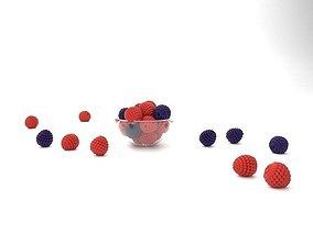 3D model Blueberry Bowl