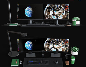 3D model Desktop Set CG Artist Edition
