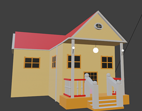House home 3D printable model